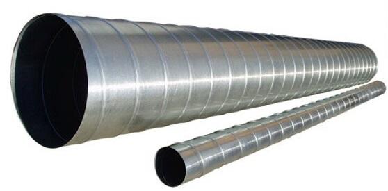 Вентиляционные трубы с круглым сечением