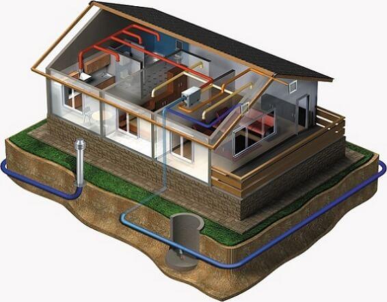 Как сделать вытяжку подвал в частном доме 144