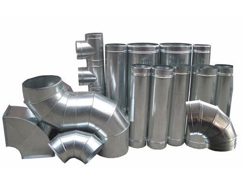Круглые трубы для вентиляционных каналов