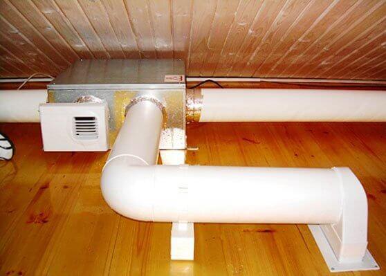 Пластиковые трубы для вентиляции дома