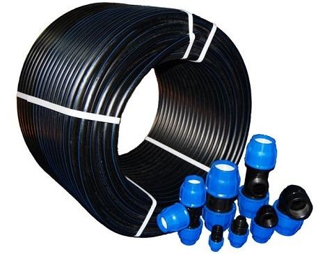 Система капельного полива из пластиковых труб