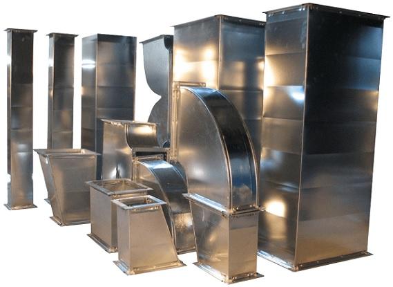 Прямоугольные трубы для вентиляционных каналов