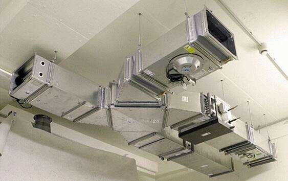 Прямоугольный воздуховод для вентиляции