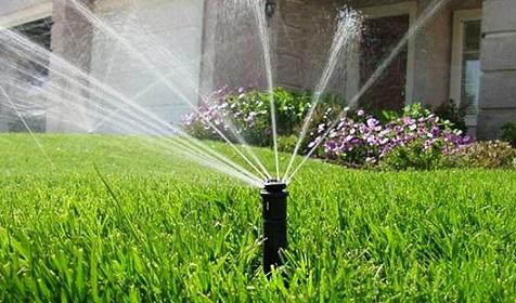Система полива путем дождевания