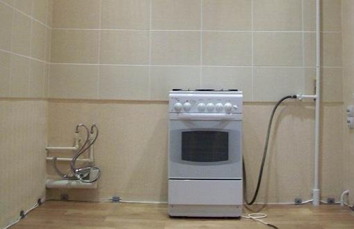 Газовая подводка в квартире