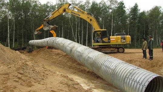 Монтаж водопроводной трубы