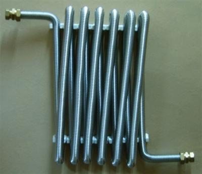 Нержавеющая гофрированная труба для отопления
