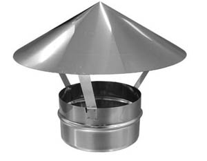 Зонт для трубы