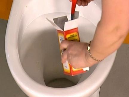 Прочистка канализации содой