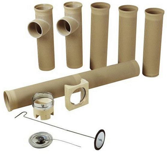 Керамические трубы для печей