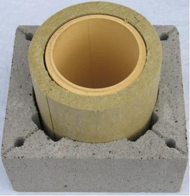 Структура керамического дымохода