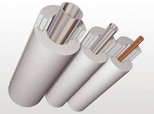 Утепление канализационных труб пенополиуретаном