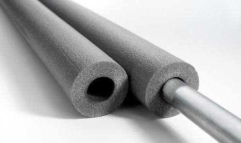 Утепление канализационных труб полиэтиленом