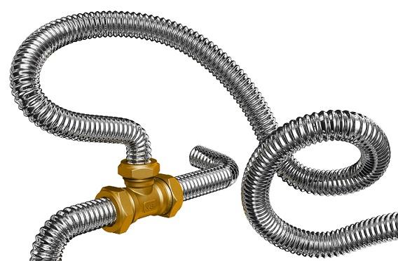 Труба гофрована нержавіюча сталь