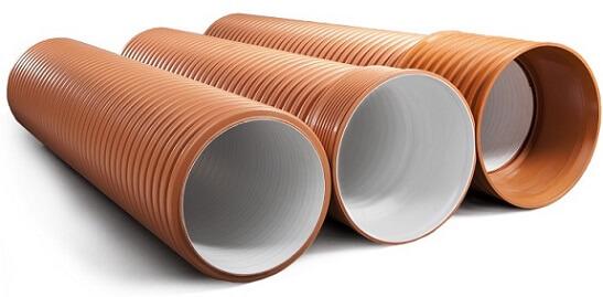 Гофрированные ПВХ трубы для наружной канализации