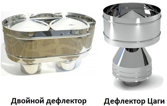 Дефлектор двойной и Цаги