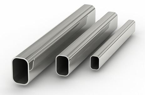 Овальные алюминиевые трубы