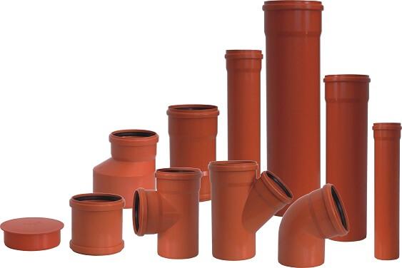ПВХ трубы для наружной канализации