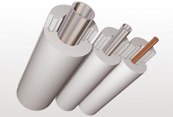 Полистирол для утепления трубы