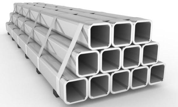 Профильные алюминиевые трубы