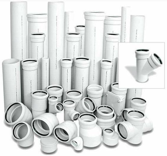 Белые трубы для канализации