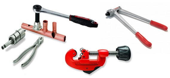 Инструменты для медных труб