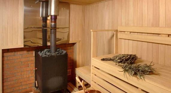Как из трубы сделать печку для бани 34