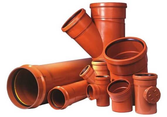Наружные канализационные трубы
