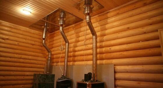 Труба для дымохода в баню