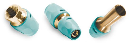 Пуш фитинги для металлопластиковых труб