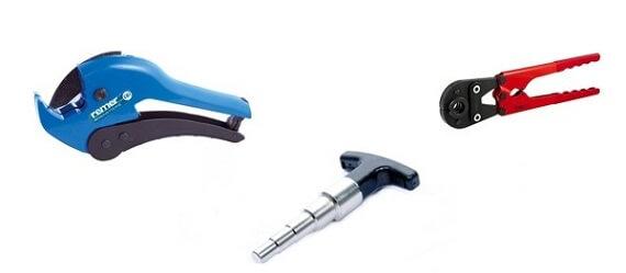 Инструменты для работы с металлопластиком