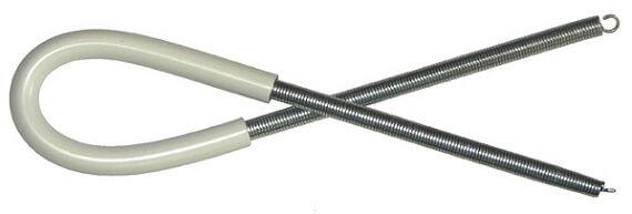 Пружина для сгибания металлопластиковых труб