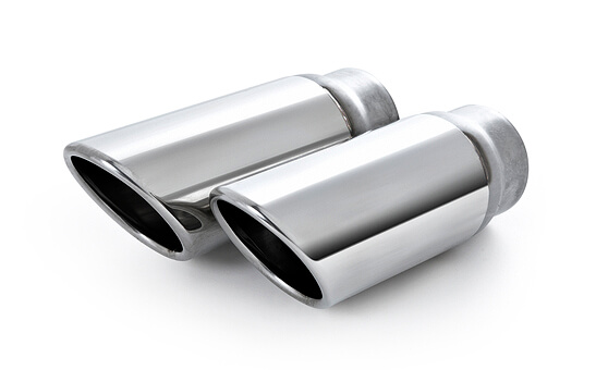 Выхлопные трубы из стали