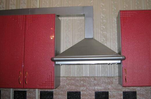 Металлический воздуховод для кухни