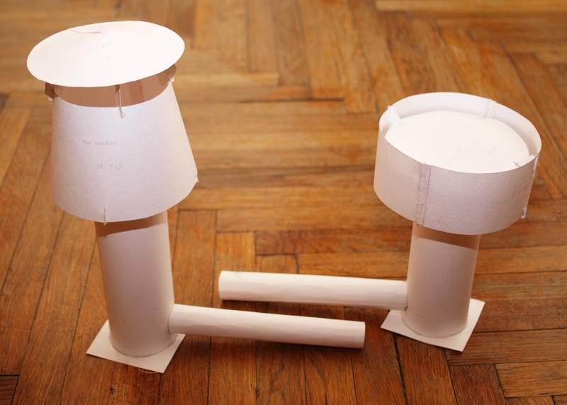 Дефлекторы для вентиляционных систем из картона