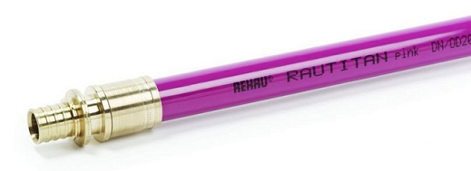 Труба Rehau Rautitan pink