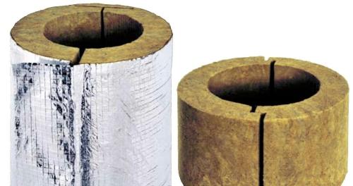 Утепление канализационных труб базальтовой ватой