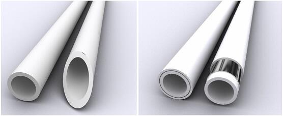 Однослойные и многослойные полипропиленовые трубы