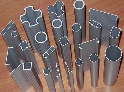 Профильные алюминиевые трубы различной формы