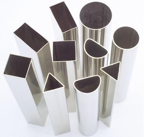 Трубы из алюминия различного сечения