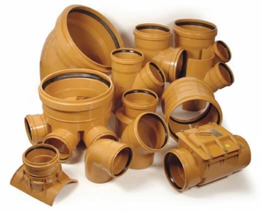 Фитинги для труб наружной канализации