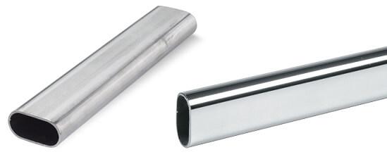 Плоскоовальные стальные трубы